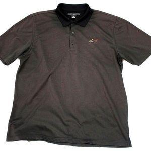 Greg Norman Play Dry Mens Short Sleeve Golf Polo S